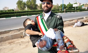 Gunmen attack Iran military parade, killing at least 24