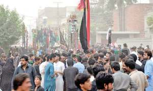 Ashura observed peacefully amid tight security in KP
