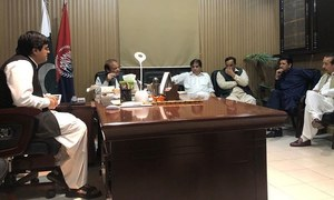 PML-N leaders deny taking photo of Hanif Abbasi with ex-PM