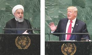 اقوام متحدہ: امریکی،ایرانی صدور کے ایک دوسرے پر طنز اور الزامات
