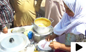 سلمہ اماں کے لذیز کھانوں کے چرچے