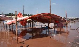 بھارت کے پانی چھوڑنے پر پاکستان میں سیلاب