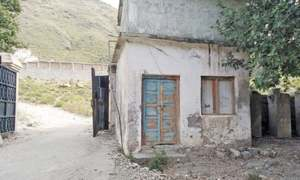 Torghar a district without health facilities