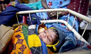 Six more infants succumb to malnutrition, water-borne diseases in Thar