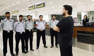 Police officer suspended after interior minister's surprise visit