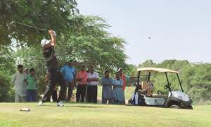 Shabbir sizzles to win CNS Open for 11th time