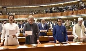 تحریکِ انصاف کی حکومت کے پہلے پارلیمانی مہینے کا مشاہدہ