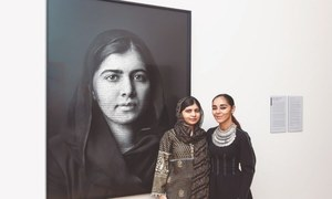 Malala's portrait unveiled at London's gallery
