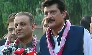 PTI's Shahzad Waseem edges out PML-N candidate in election for Senate seat in Punjab