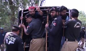 Peshawar University students beaten up, arrested by police