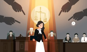 CAN THE WOMEN OF LAW GET JUSTICE?