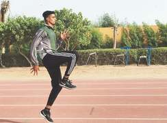 ATHLETICS: MEET THE BALOCH BOLT