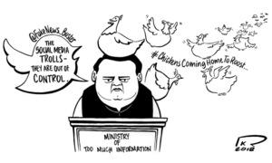 Cartoon: 7 October, 2018