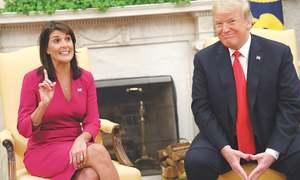 Nikki Haley resigns as US envoy to UN