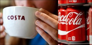 Coke goes for a cuppa!
