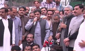 'پنجاب اسمبلی کے دروازے بند کرنا آمرانہ رویہ ہے'