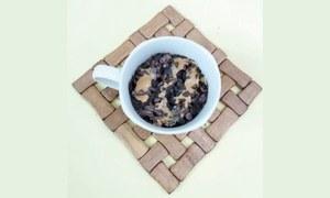 Cook-it-yourself: Chocolate peanut butter mug cake