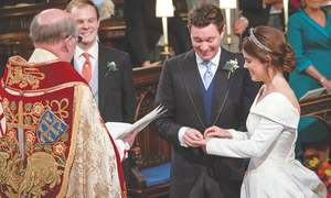 Princess Eugenie marries in grand ceremony