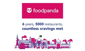 Foodpanda marks a milestone with 5000 restaurants in six years