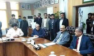 Chief election commissioner visits election control room