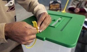 پی پی 27 جہلم میں احتجاجاً ووٹنگ کا بائیکاٹ