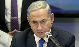 Netanyahu threatens Hamas with 'very strong blows'