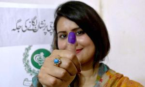 In pictures: Pakistan votes in by-elections on 35 constituencies