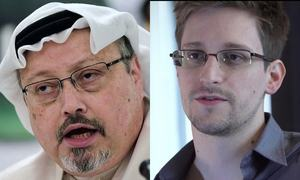 What Khashoggi and Snowden have in common