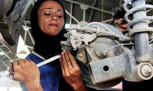 This 24-year-old female car mechanic is driving change in Multan