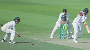 COMMENT: Debutant's disciplined knock keeps Pakistan in the game