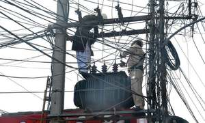 Power to remain suspended tomorrow