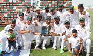 Ten-wicket Abbas destroys Australia for Pakistan's series win