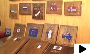 کراچی کے سُنار کا 22 ممالک کو پیغام امن دینے کا انوکھا انداز