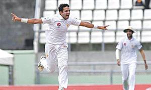 Triumphant pacer Abbas earns glowing tributes from Sarfraz, Paine