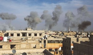 Coalition air strike in Syria targets mosque used by IS
