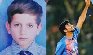پاکستانی بچے نے بمراہ کو اپنے بچپن کی یاد دلا دی