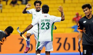 ایشین ہاکی چیمپیئنز ٹرافی میں پاکستان کی 1-8 سے فتح