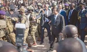 Africa's oldest president, Cameroon's Biya, wins seventh term