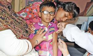 Measles drive targets hard-to-reach populations