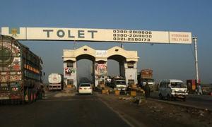 کراچی سے حیدرآباد جانے والوں سے ٹول ٹیکس نہ لینے کا فیصلہ