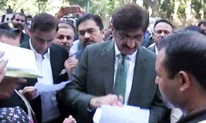 Providing records to JIT is not a chief minister's job, says CM Shah after meeting CJP