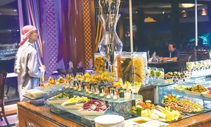 Delicacies from Arab world delight foodies