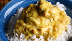 This pakora curry recipe will even win over meat lovers