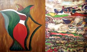 Exhibition featuring works of upcoming artists opens