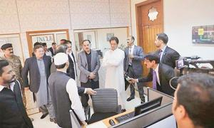 Imran launches citizens' complaint receiving system
