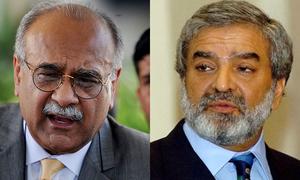 نجم سیٹھی کا چیئرمین پی سی بی کو قانونی نوٹس