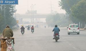 Smog starts stalking skyline