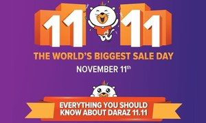 Daraz brings Alibaba's 11.11 Global Shopping Festival to Pakistan