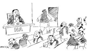 Cartoon: 1 November, 2018