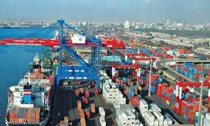 External trade hit by protests